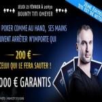 Tournoi avec 200€ offert pour éliminer Titi Omeyer