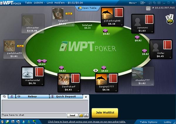 wpt poker freeroll