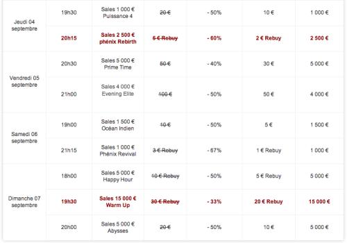 suite dy programme summer sales sur betclic poker