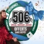 Offre de bienvenue sur Everest poker : 50 euros offerts sans dépôt avec le code promo