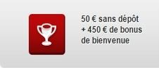 50 € bonus sans dépôt everest.fr