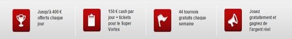 Tournois gratuits sur Betclic Poker