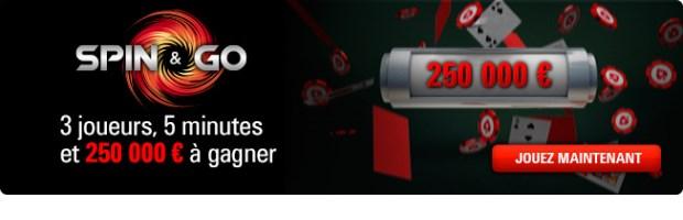 Spin & Go Hyper Turbo sur Pokerstars