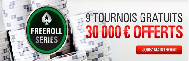 Freeroll Series 3 de Pokerstars