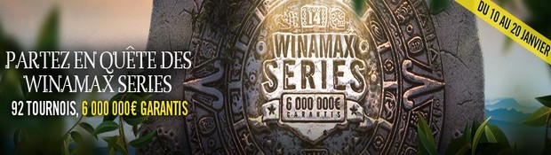 La 14ème édition des Winamax Series Poker