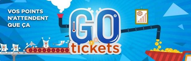 Collectionnez les Tickets Go sur Betclic Poker