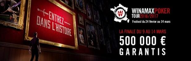 Le Winamax Poker Tour : la finale du 24 février au 14 mars