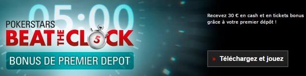 Code promo Pokerstars : 30€ offerts