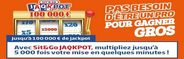 Découvrez les Sit&Go Jaqkpot de PMU Poker