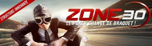 Les tournois de poker Zone 30 sur Winamax.fr