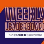 Weekly Leaderboard sur PMU Poker : 12.000€ mis en jeu chaque semaine sur différents classements