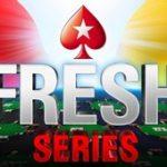 Les Fresh Series 2018 du 28/01 au 12/02 sur PokerStars : 5.000.000€ mis en jeu à travers 50 tournois