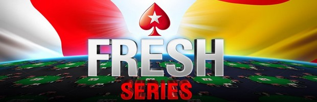 5.000.000€ mis en jeu pour les Fresh Series de PokerStars