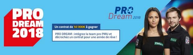 Remportez un contrat pro de 50.000€ sur PMU Poker
