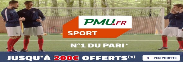 PMU bonus sport 2018
