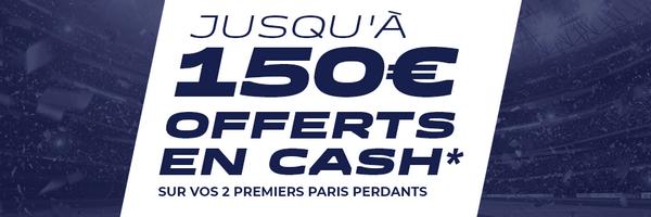 Profitez de 150 euros offerts sur ParionsSport