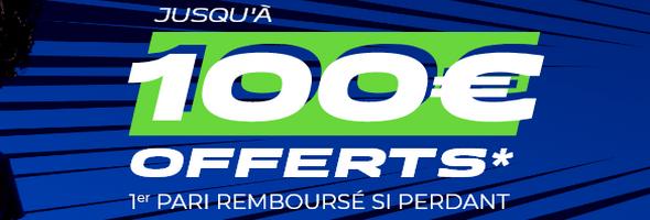 Profitez de 100 euros offerts sur ParionsSport