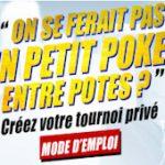 Jouer au poker en ligne entre amis : quels sont les sites sur lesquels on peut créer des tournois privés ?