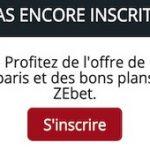 Comment ouvrir un compte sur ZEbet : procédure d'inscription, 1er dépôt, activation définitive