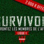 Survivor sur Winamax : Défiez les membres de l'After Foot RMC pour empochez jusqu'à 2.000 €