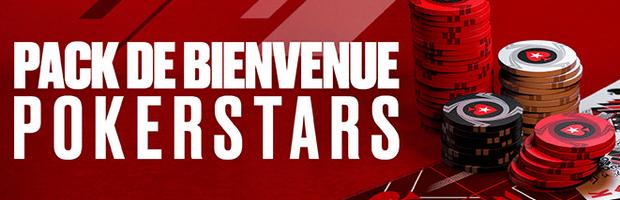 50€ offerts à l'inscription avec le code promo PokerStars