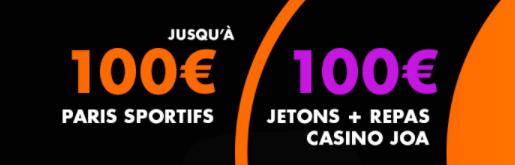 JOA Bet bonus sport