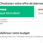 Offre PMU Turf à l'inscription : 25% de tous vos paris remboursés durant 2 mois dans une limite de 100€
